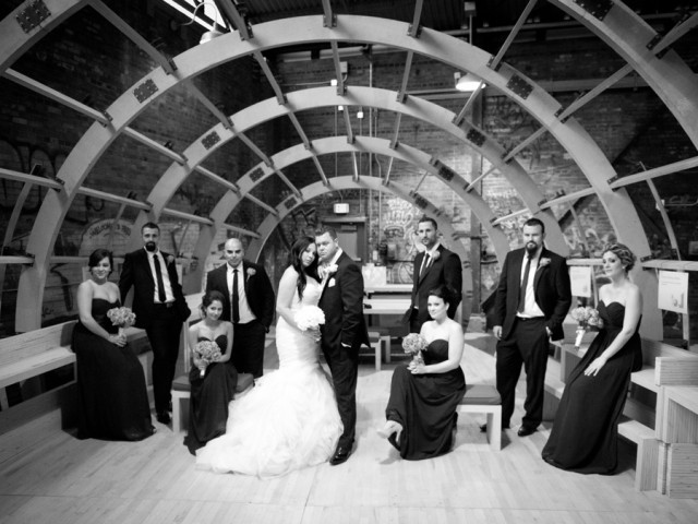 Evergreen Brickworks Weddings and Engagements