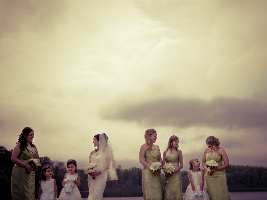 Bridal Party with a Vintage Look