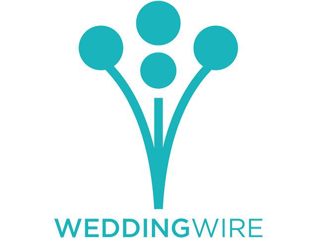 Azure Blue + WeddingWire!