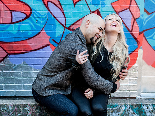 Faustin and Dave – An urban counterpart to the fall engagement