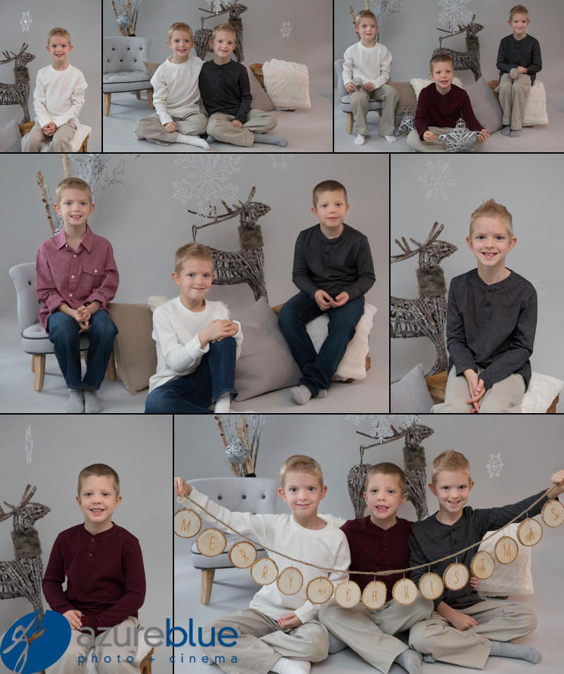 Oscar, George and Olly's Christmas Shoot