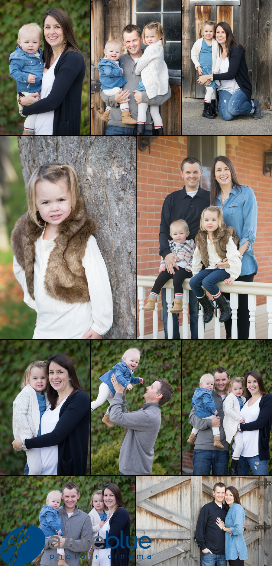 Shannaghn & Kyle – family shoot