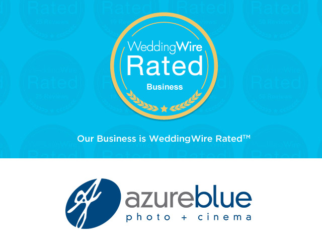5 Star Reviews from Wedding Wire