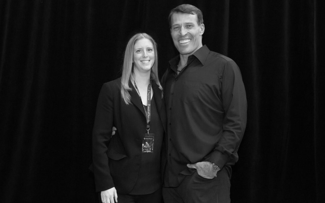 Stacey and Tony Robbins
