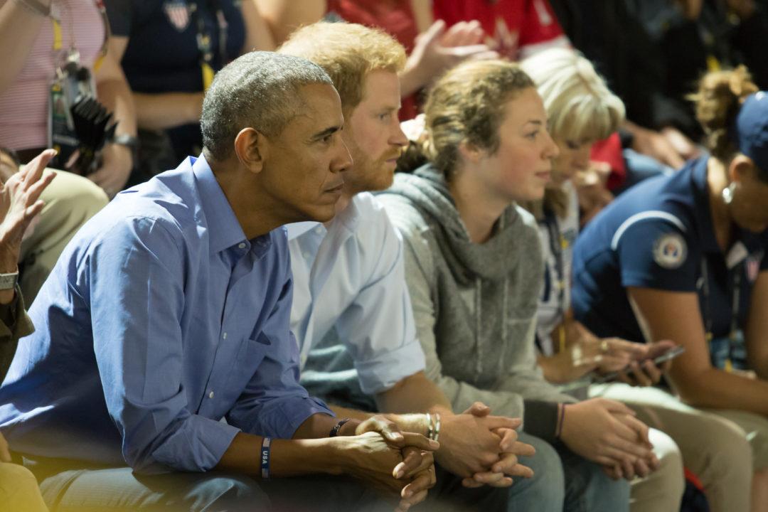 Obama & Prince Harry Invictus Games