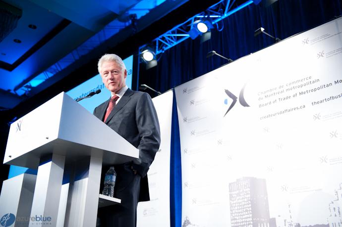 William Jefferson Clinton – Montreal