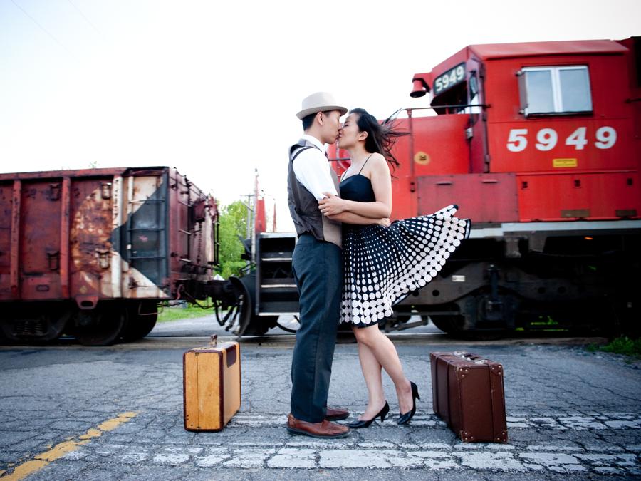 A Vintage Engagement