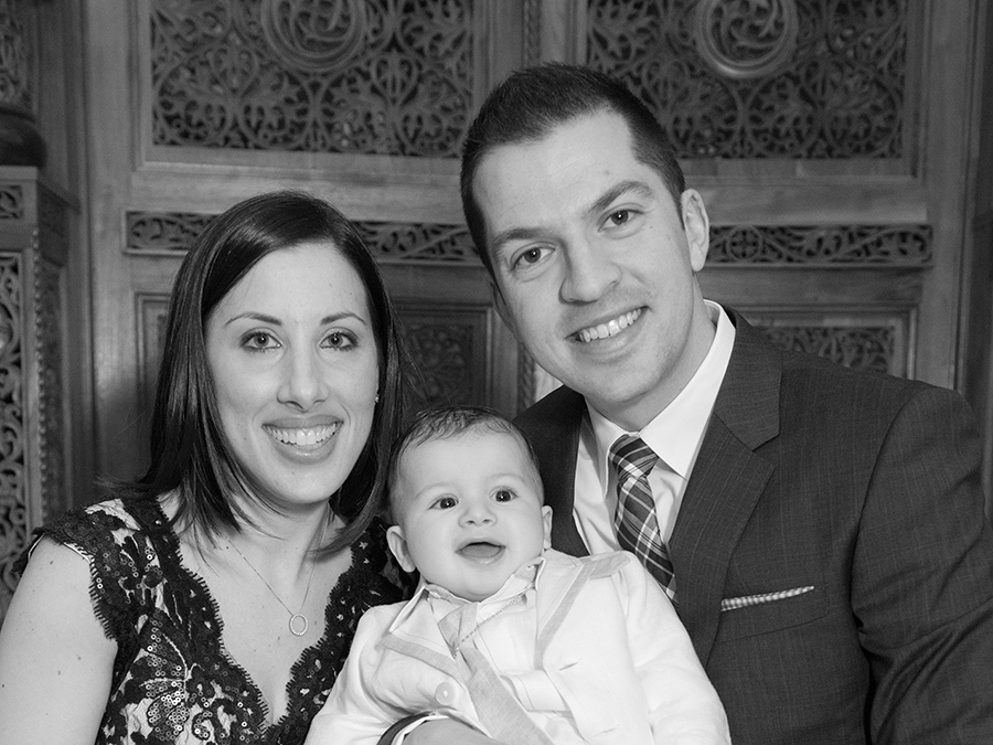 Maria and Thanasi's Baptism of James