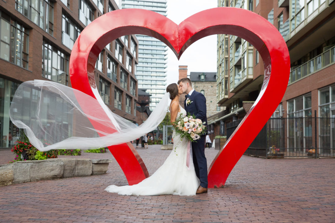 Distillery District, Toronto, Wedding Photography
