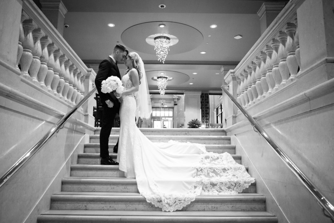 One King West, Toronto, wedding photography