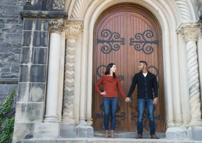 University of Toronto, engagement shoot, wedding photography, U of T,