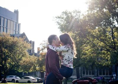engagement shoot, wedding photography, Toronto, U of T, University of Toronto