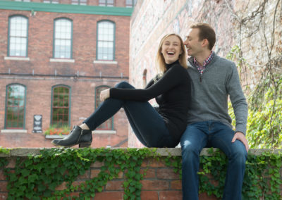 Liberty Village, toronto, engagement shoot, wedding photography